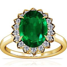 Certificate, Emerald, Jewelry Watches, Gemstone Rings, Brooch, Gemstones, Amazon, Yellow, Floral