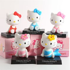 Hello Kitty Figure 12cm //Price: $17.99 & FREE Shipping // World of Hello Kitty http://worldofhellokitty.com/12cm-pvc-hello-kitty-action-figure-toy-hello-kitty-car-furnishing-articles-head-shaking-kt-merimaid-kids-toys-anime-brinquedos/    #collectibles