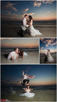 10 Best Trash the Dress Wedding Photos