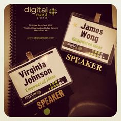 We're honored to be hosting a pre-conference workshop, as well as speaking at a main session at the Digital East Conference in Washington, D.C. this week! #DEast12