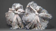 Nueva coleccion de mascadas alexander mcqueen y damien hirst