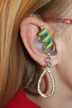 Hearing Aid - with charms