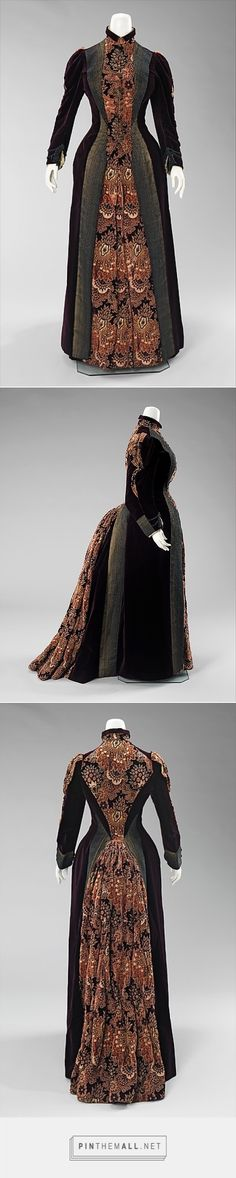 Dress by Mme. Uoll Gross 1888 American | The Metropolitan Museum of Art - created on 2015-04-13 11:21:19