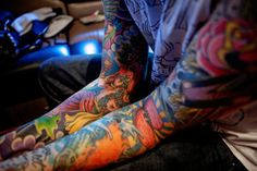 if i get a tattoo i have a feeling i'm going to end up wanting an entire sleeve..