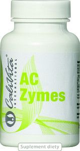AC ZYMES 100 kaps ( żywe bakterie Acidophilus )