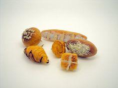 Thumb Tacks of Miniature Food by SmallIdea on Etsy