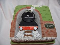 Birthday cake for adults Bithday Cake, Birthday Cakes For Men, Train Cupcakes, Cupcake Cakes, 25th Birthday Wishes, 90 Birthday, Marzipan, Grooms Cake Tables, Groom Cake