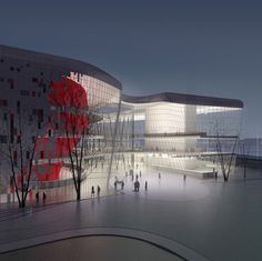 arata isozaki-Krakow Congress Center