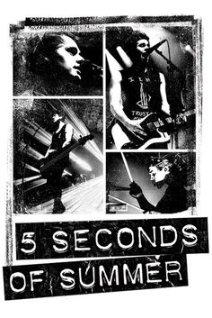 5 Seconds of Summer - Photo Block - Official Poster. Official Merchandise. Size: 61cm x 91.5cm. FREE SHIPPING