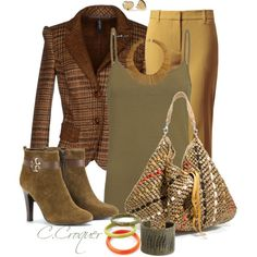 Some Stripes & Boots, created by ccroquer on Polyvore