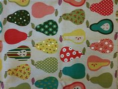 Pear fabric to drool over