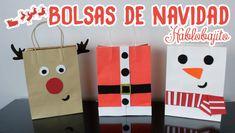 DECORAR BOLSAS DE REGALO / IDEAS PARA NAVIDAD - Hablobajito - YouTube