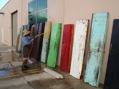 antique door wash, just the first step in  cleaning these beautiful puertas