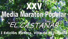 """Inscríbete al XXV Medio Maratón """"El Castañar"""" en El Tiemblo (Ávila)"""