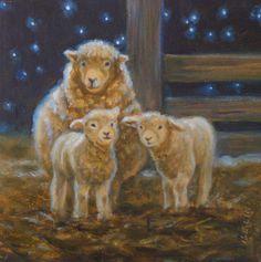 Petite laine 6x6 Famille