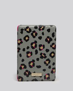 kate spade new york iPad Mini Case - Folio Hardcase Cyber Cheetah | Bloomingdale's....so flipping cute and perfect for me