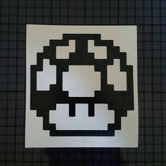 Super Mario Brother 8Bit Mushroom