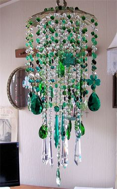 Just finished this St. Patrick's Day~themed wind chime for a special client...