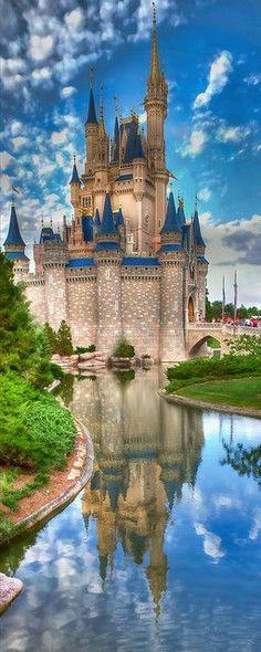 Cinderella's Castle Walt Disney World , Florida Orlando USA -- right in our backyard