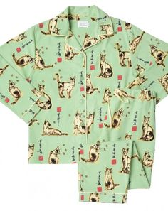 About cat pj s on pinterest cat prints flannel pajamas and pajamas
