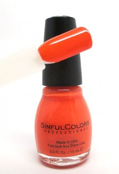 SinfulColors Spring 2015, Feel The Vibe Swatch.  #sinfulcolors #spring #nails #beautyblog
