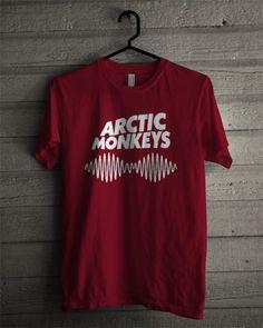 Arctic Monkeys T Shirt Mens Fashion Sweaters, Men Sweater, Arctic Monkeys Shirt, Mens Athletic Fashion, Street Fashion, Men's Fashion, Monkey T Shirt, Band Tees, Casual Shirts