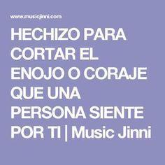 HECHIZO PARA CORTAR EL ENOJO O CORAJE QUE UNA PERSONA SIENTE POR TI | Music Jinni