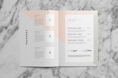 Saint–Martin Proposal by Studio Standard on @creativemarket