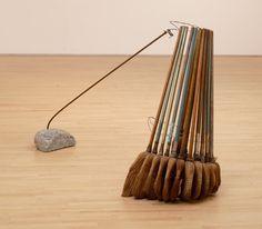 Artwork image, David Ireland's Broom Collection with Boom