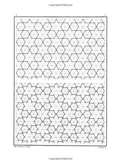 Arabic Geometrical Pattern and Design Picture Archives: Amazon.co.uk: J. Bourgoin: Books