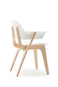 Gispen Today Chair is a minimalist chair designed by Amsterdam-based designer Thijs Smeets. Thijs Smeets founded his Studio Smeets in 2007 after working for several design studios in The Netherlands and New York. Educated as a designer and engineer, his designs cover a broad spectrum of products - from furniture to consumer electronics. (9)