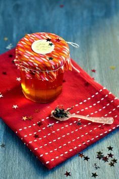 Gelée de pommes au thé, gingembre et citron vert - cadeau gourmand