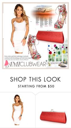"""""""AMICLUBWEAR 7/IV"""" by damira-dlxv ❤ liked on Polyvore featuring amiclubwear"""