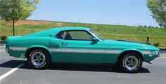 The upcoming 3rd annual Barrett-Jackson Las Vegas Collector Car Auction will see its share of unusual and unique vehicles cross the auction floor. Among them will be the only 1970 GT500 built in Grabber Green and white stripes.