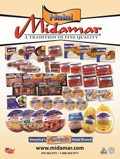 Unparalleled variety of Halal Foods.  At www.midamarhalal.com you'll find premium quality halal foods for everyone in your family.