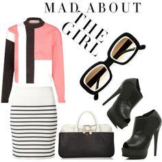 Big For 2013 - Shake Up Your Wardrobe With Bold Stripes by latoyacl, toyastales.blogspot.com