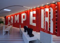 Camper Store Interiors
