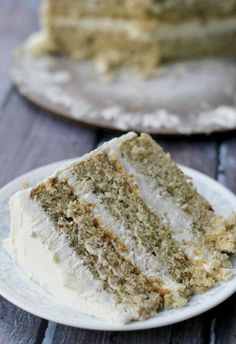 This pistachio cake with honey vanilla buttercream frosting is a true celebration cake – with a light crumb and a delectable frosting, it's the kind of cake that you will never forget after that first bite.