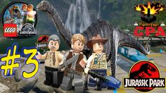 LEGO JURASSIC WORLD #3 - PARQUE DOS DINOSSAUROS - PT-BR