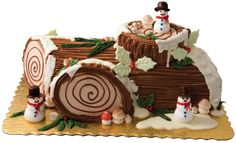 There are many different delicious recipes made during Christmas. How many of you are going to make a Christmas Yule Log?