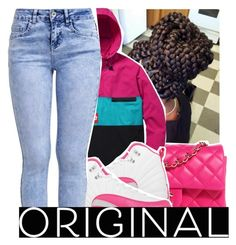 Stay Original by purplequeen04 on Polyvore featuring polyvore, fashion, style, New Look, Chanel, NIKE and clothing