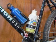 DIY Water Bottle Bike Tool Kit