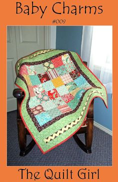 Baby Charms Quilt Pattern from The Quilt Girl by BuilderBugs, $9.00