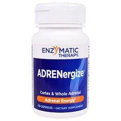 Enzymatic Therapy, アドレナジャイズ(ADRENergize), エネルギー, 50カプセル - iHerb.com