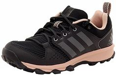 Adidas Galaxy Trail Womens Running Shoe 12 Utility BlackSilver MetVapour Pink * Read more  at the image link.