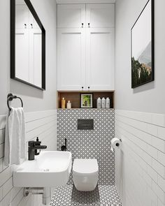 Location and gives extra storage space at the same time that helps to capture a spacious with a small bathroom decorating ideas . Bathroom Inspiration, Small Bathroom Makeover, Bathrooms Remodel, Bathroom Decor, Small Toilet Design, Toilet Design, Bathroom Design Small, Small Bathroom Decor, Bathroom Layout