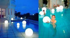 Floating Pool Lights Moonlight