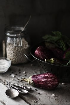 eggplant. beautiful. #photography #food #styling