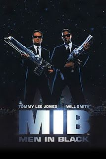 MEN IN BLACK. Aliens live among us and these guys protect us from that knowledge. Really good movie. 5 of 5