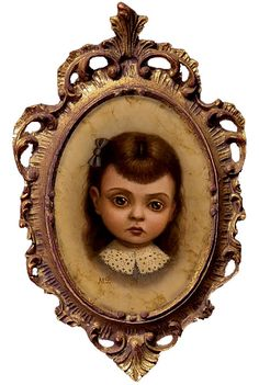 """""""Rebecca by Marion Peck Surrealism Painting, Pop Surrealism, Marion Peck, Big Eyes Paintings, Lowbrow Art, Creepy Cute, Artist Gallery, Whimsical Art, Mark Ryden"""